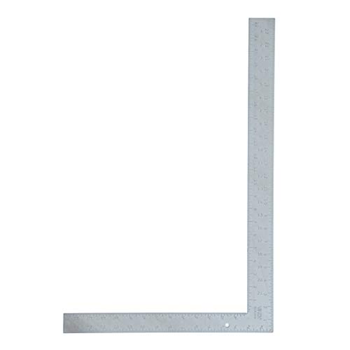 VINCA SCLS-2416 Carpenter L Framing Square 16 inch x 24 inch Measuring Layout Tool