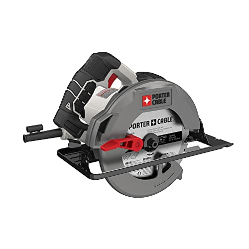 PORTER-CABLE 7-1/4-Inch Circular Saw, Heavy Duty Steel Shoe, 15-Amp (PCE300)