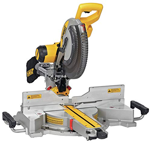 DEWALT DWS780 12-Inch Double Bevel Sliding Compound Miter Saw (DWS780)