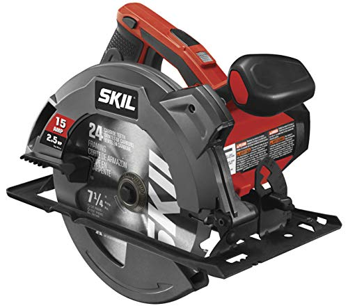 SKIL 5280-01 Circular Saw with Single Beam Laser Guide, 15 Amp/7-1/4'